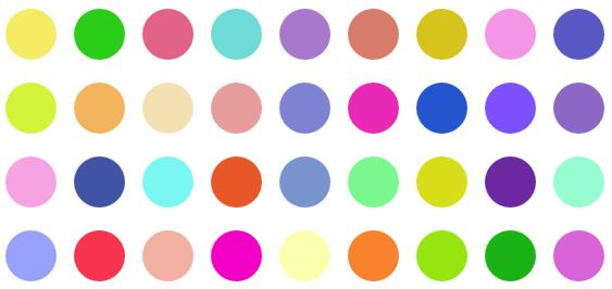 GitHub - mistic100/RandomColor php: A color generator for PHP