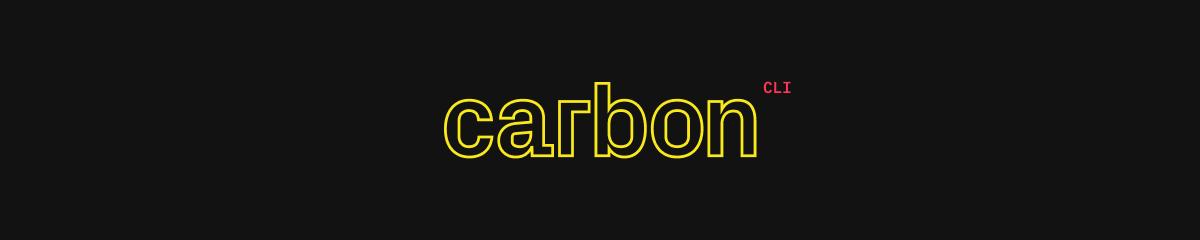 Carbon CLI