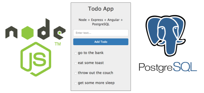PostgreSQL and NodeJS