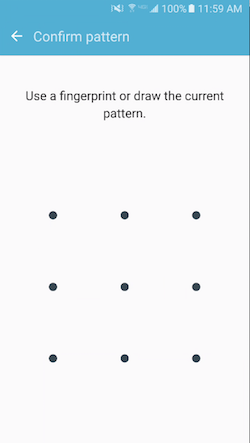 Confirm Pattern
