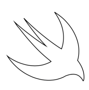Swift logo path drawing using PathBuilder