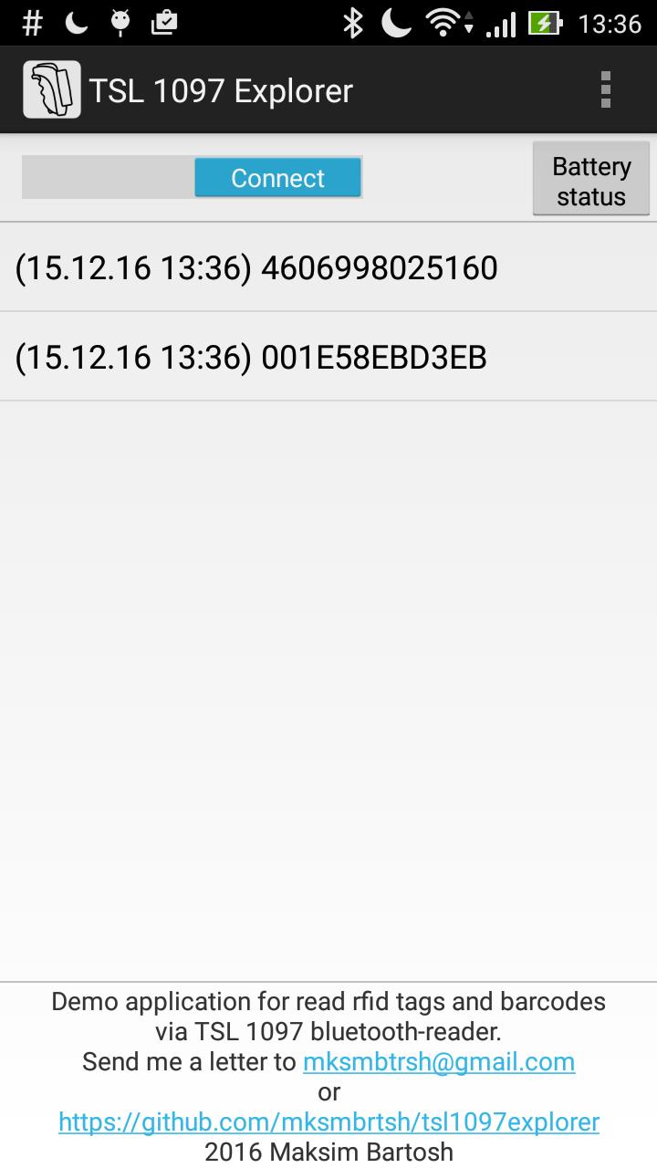 GitHub - mksmbrtsh/tsl1097explorer: Demo application for