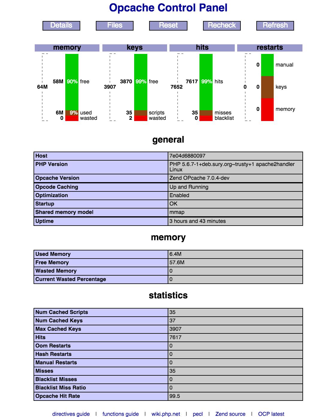 GitHub - mlazarov/ocp: Opcache Control Panel