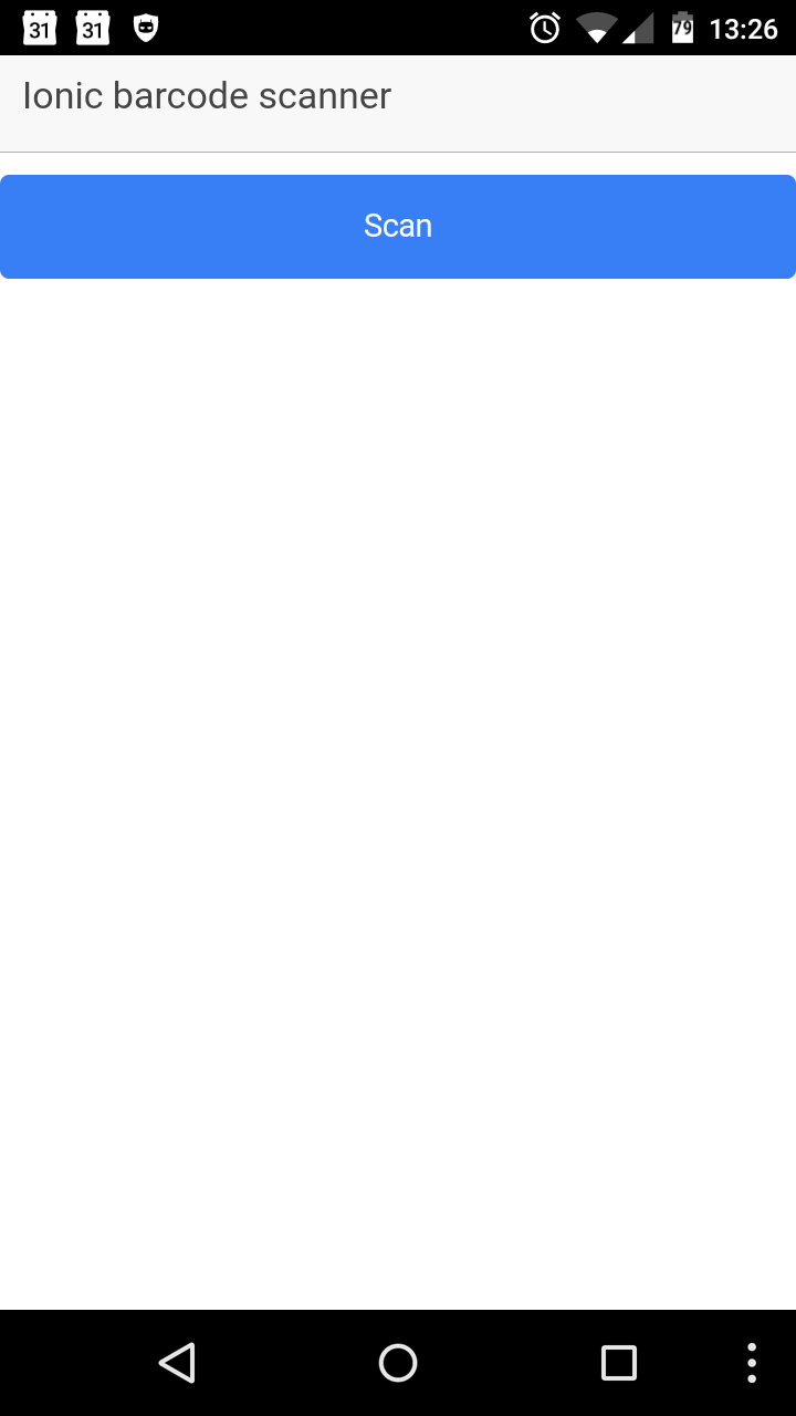 GitHub - mlazzje/ionic-barcode-scanner: Ionic application in