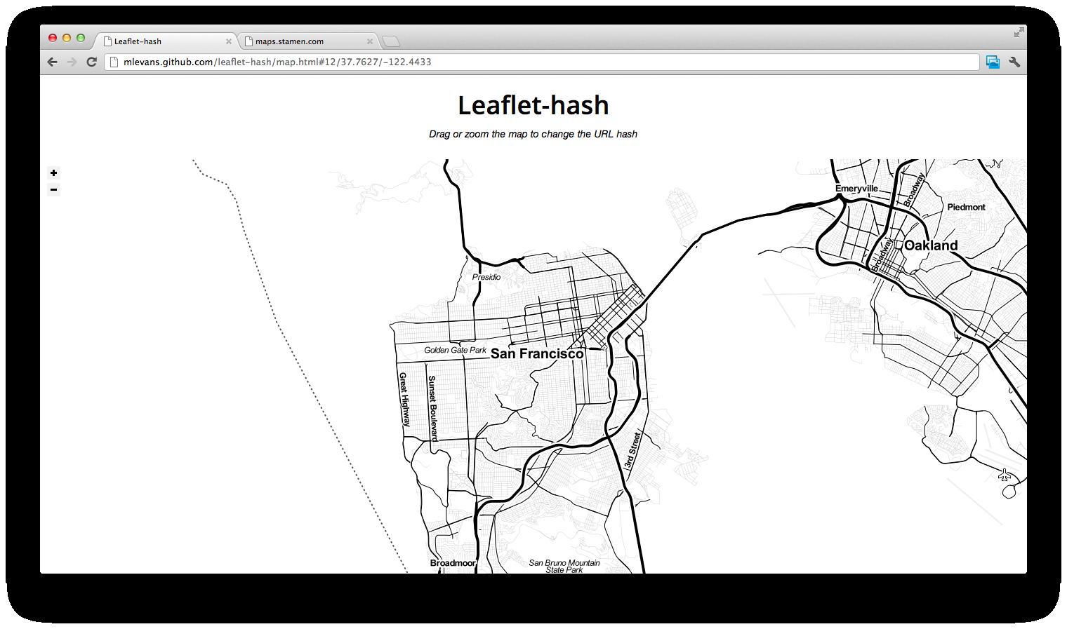 Leaflet-hash