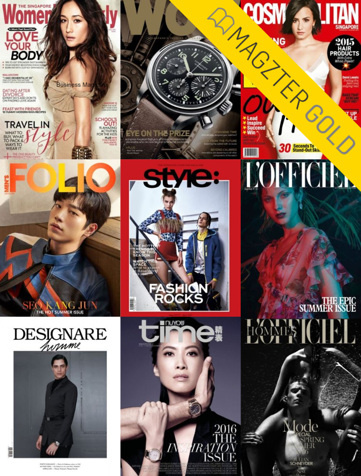Magzter Gold Fashion Magazines and more