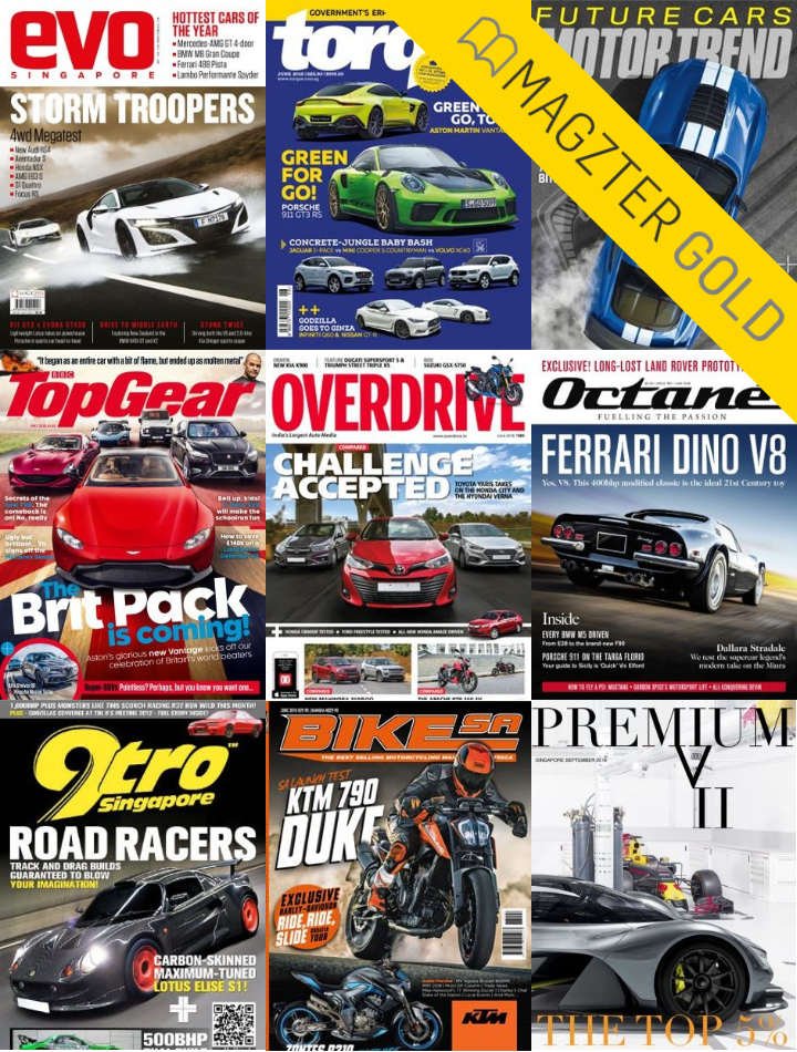 Magzter Gold Automotive Magazines and more