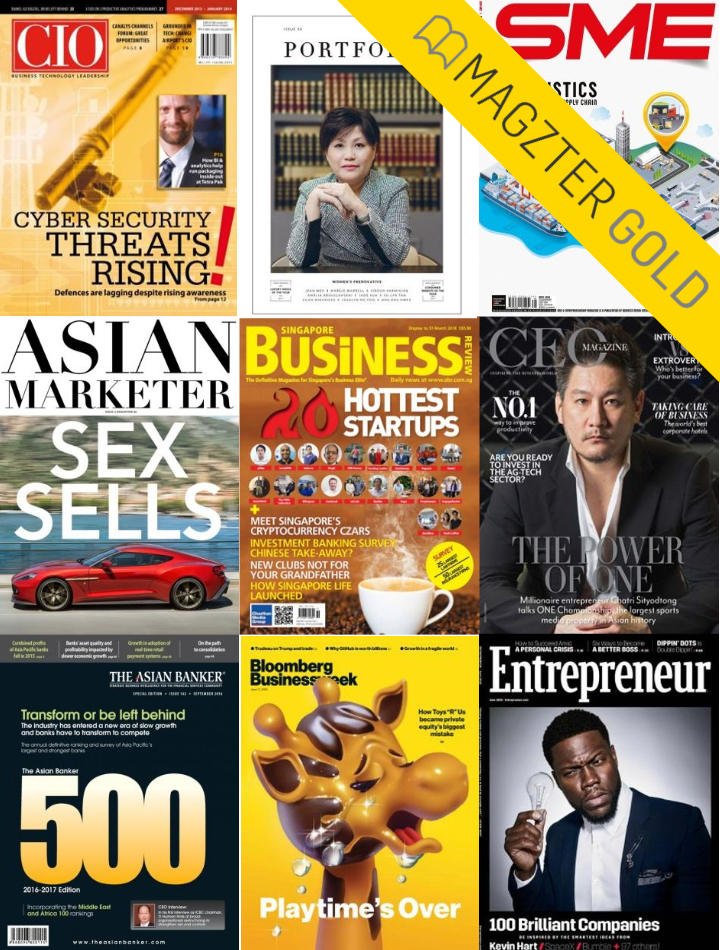 Magzter Gold Business Magazines and more