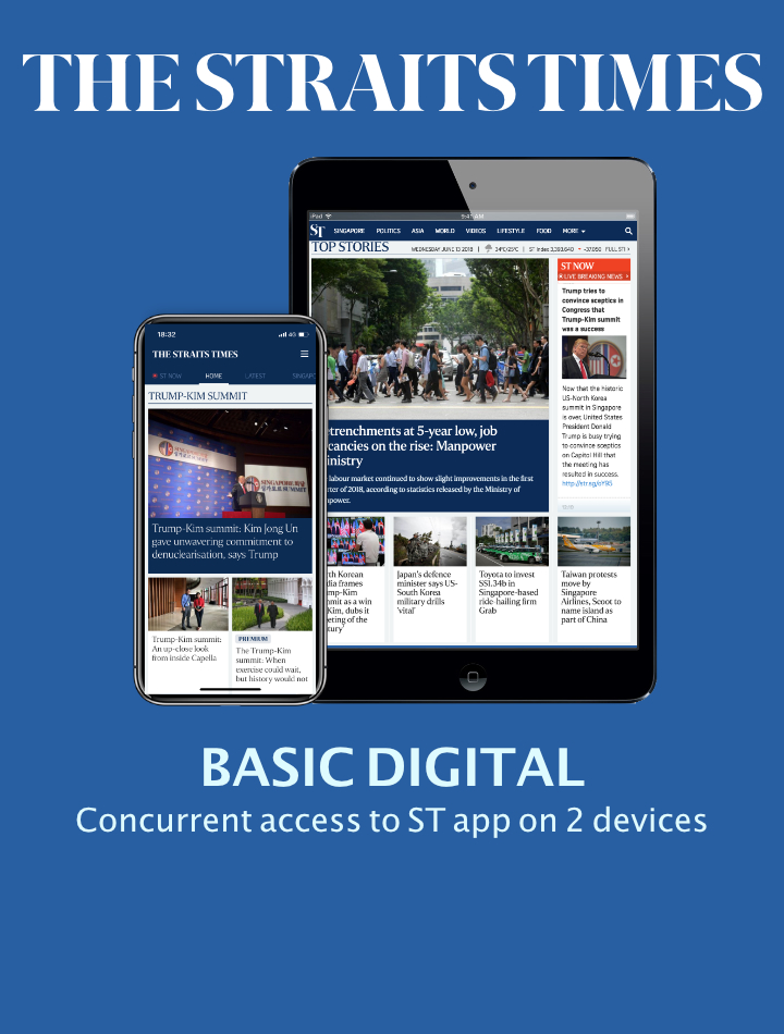 The Straits Times Basic Digital
