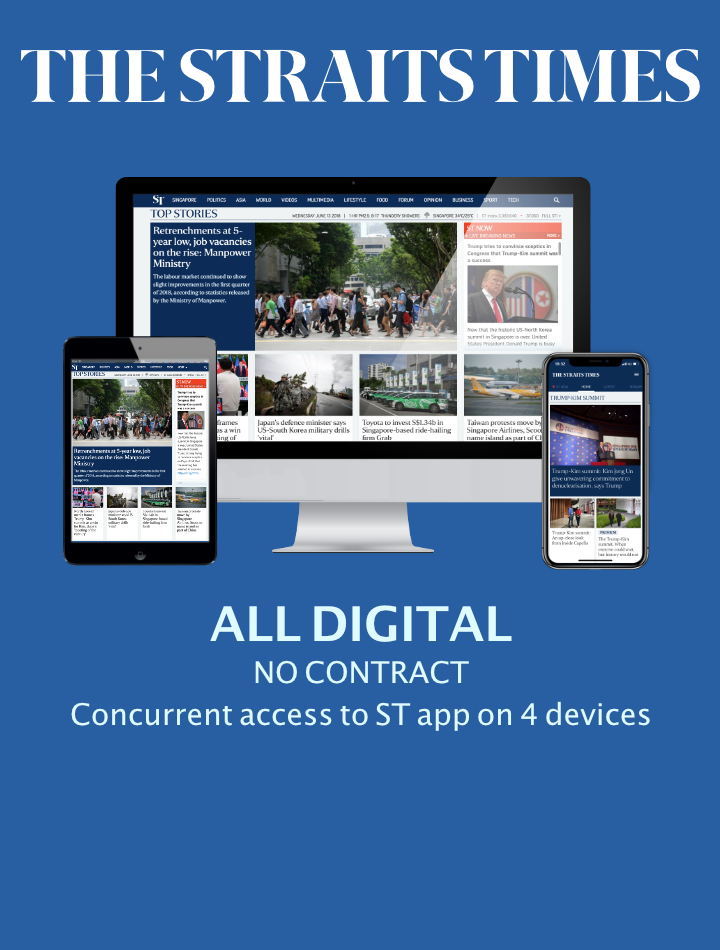The Straits Times All Digital No Contract