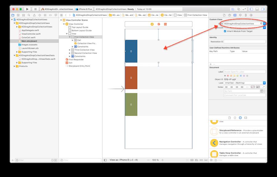 XCode Interface Builder Screen