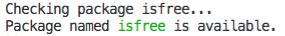 free output