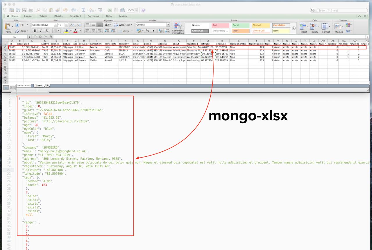 mongo-xlsx - npm