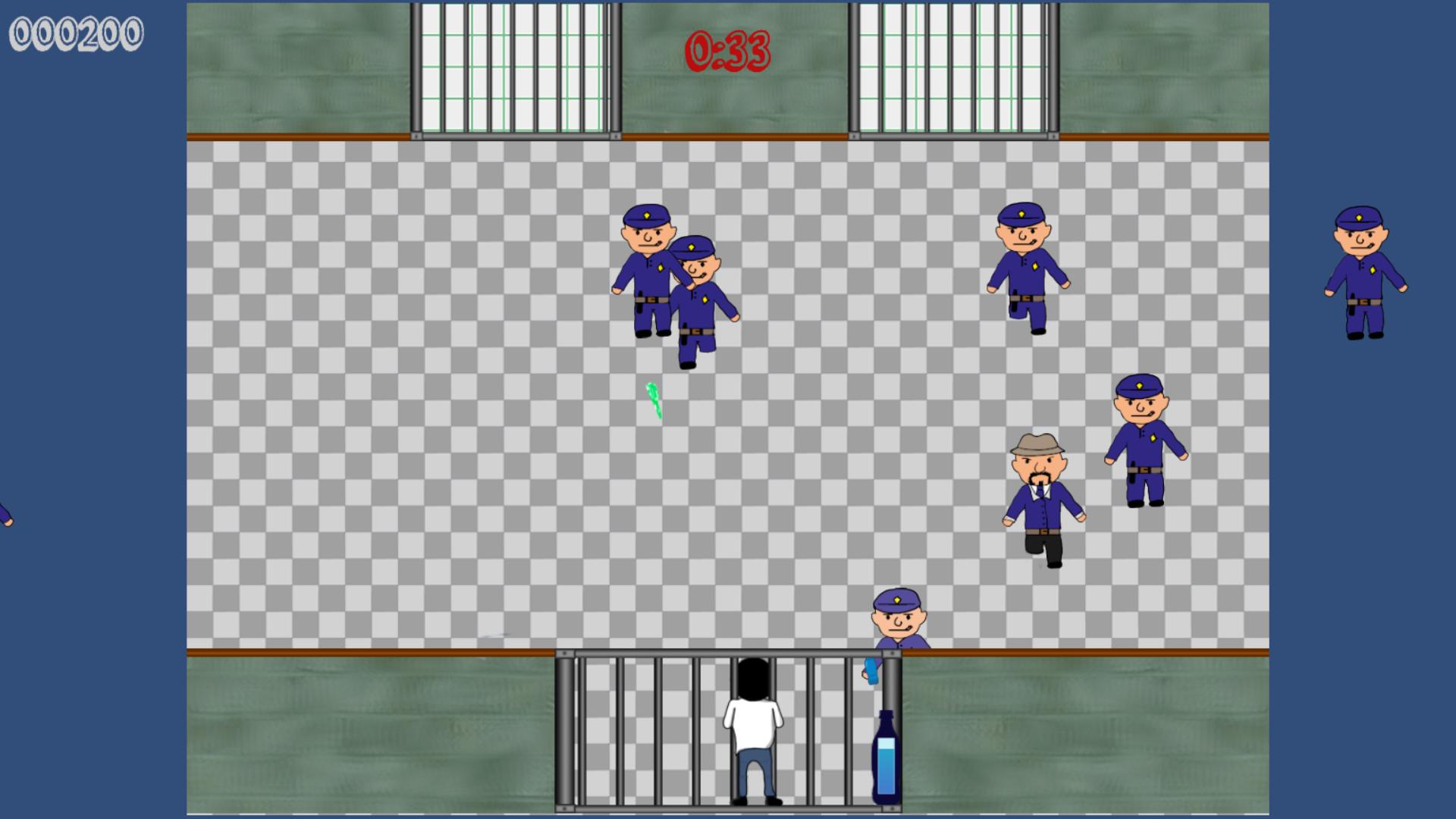 Captura de pantalla del videojuego Escupitajulus Insanis