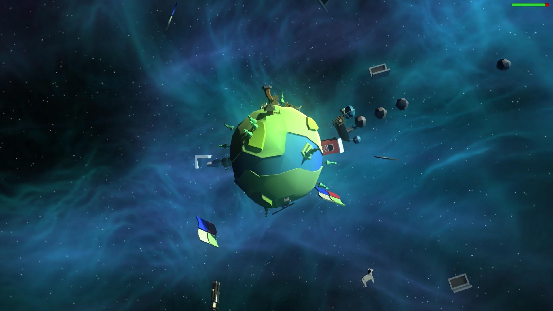 Captura de pantalla del videojuego Amish Paradise