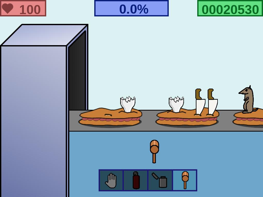 Captura de pantalla de El Juego De los Bocadillos (JDB)