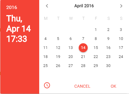Angular Material Date Picker, DateTime Picker, Range Picker