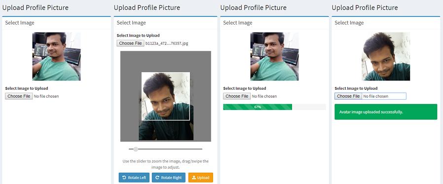 GitHub - monim67/laravel-user-image-croppie: Laravel package