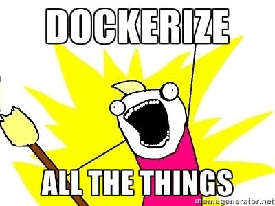 Dockerize ak the things