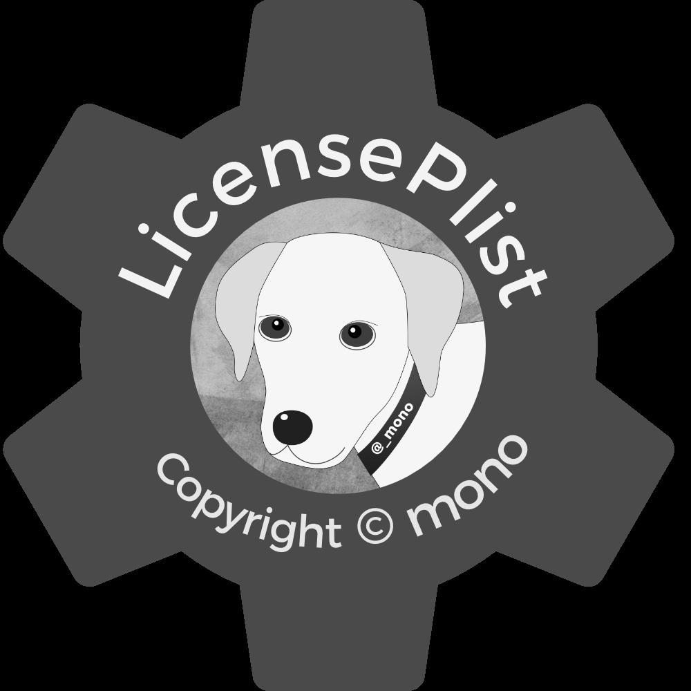 LicensePlist Logo