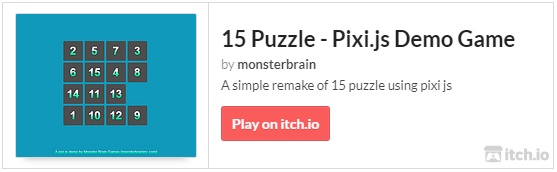 GitHub - monsterbrain/pixijs-15-puzzle-game-demo: A simple