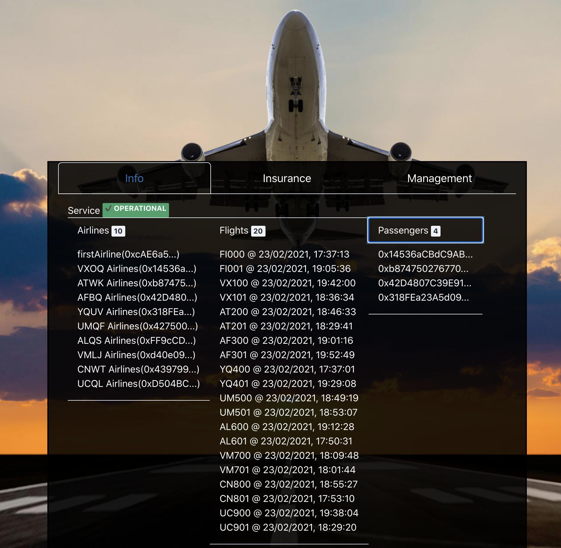 FlightSurety - 飞行担保