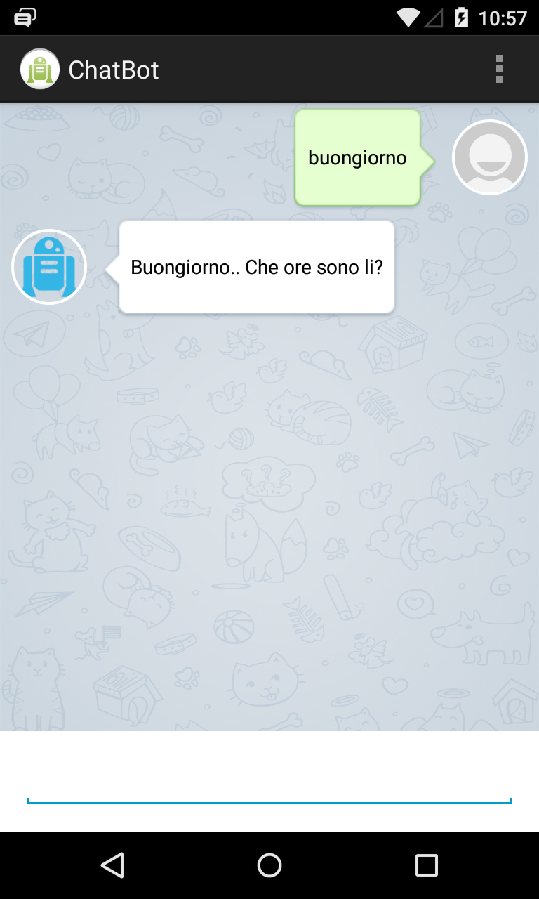 ChatBot by moondroid