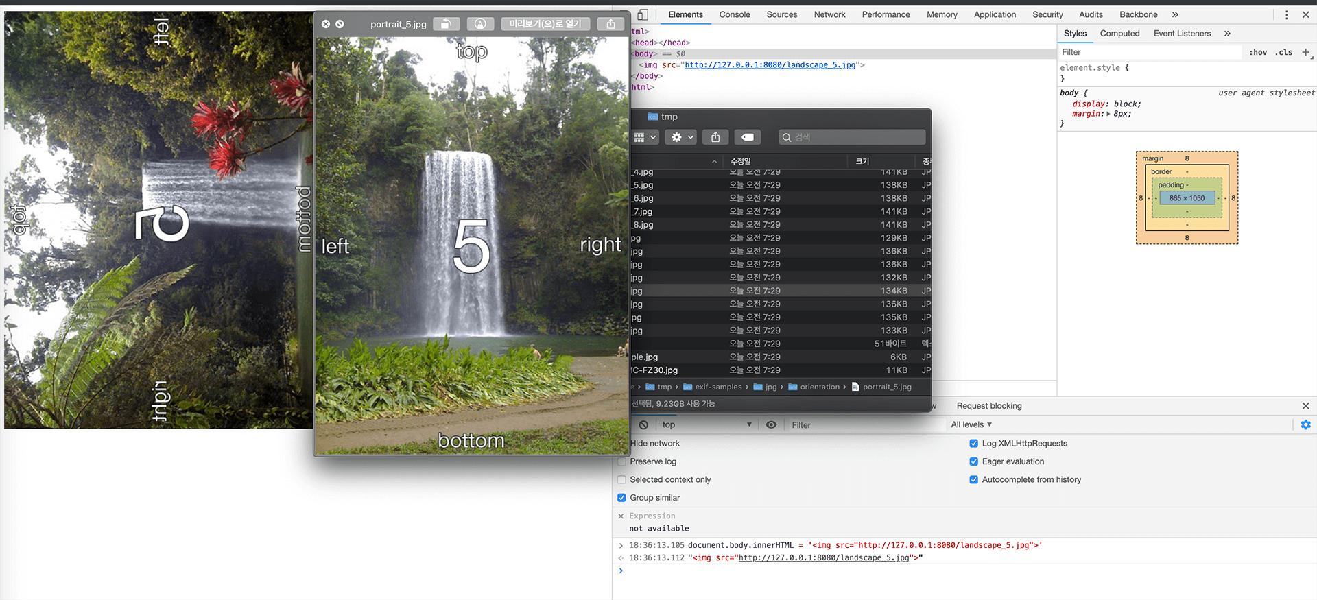 adaption stats of CSS3 Image Orientation