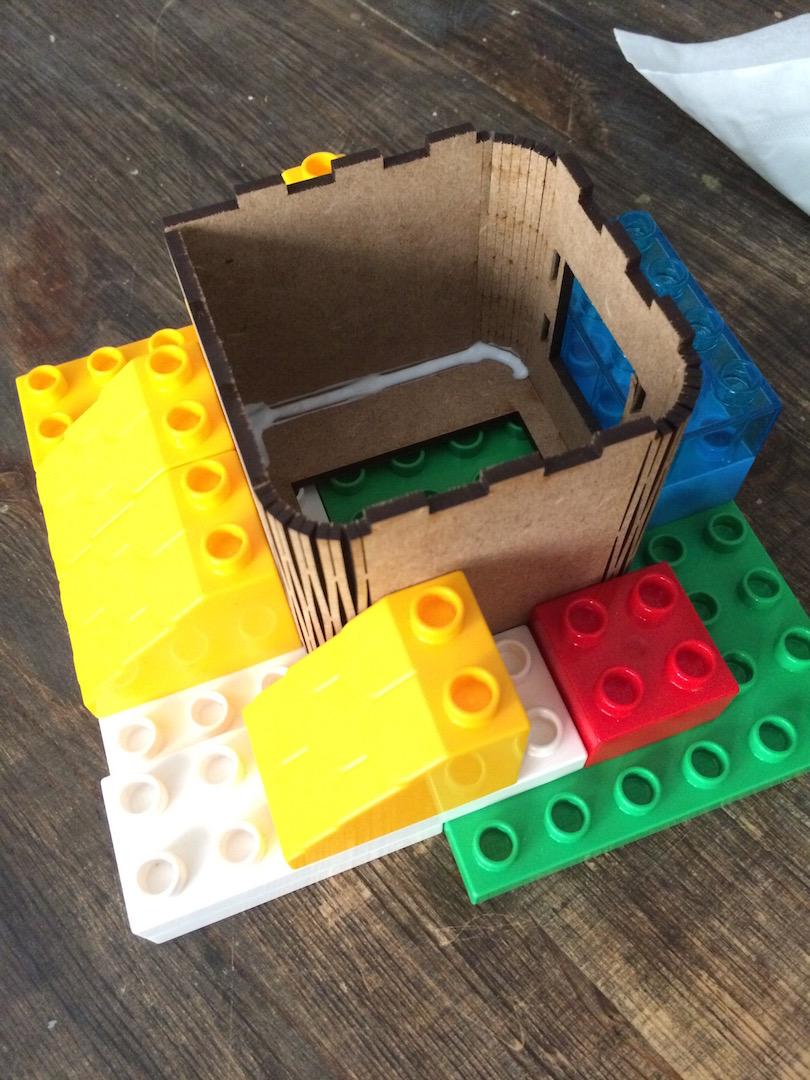 boxes glued