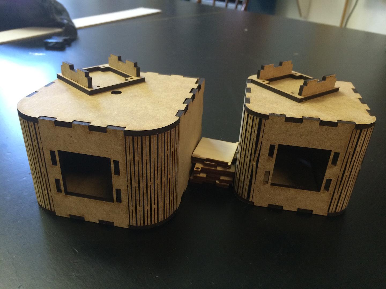 boxes assembled