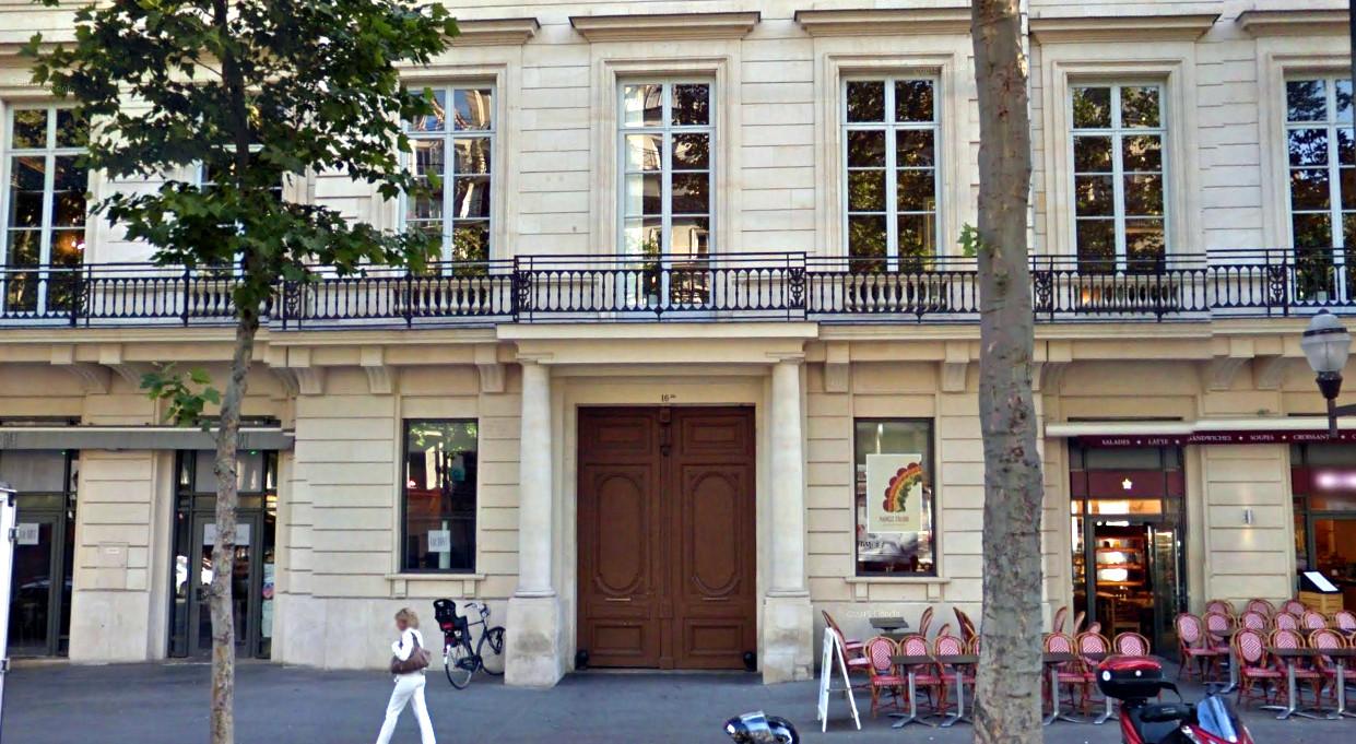 photo de l'entrée du bureau de Mozilla Paris