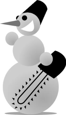 frost snowman logo