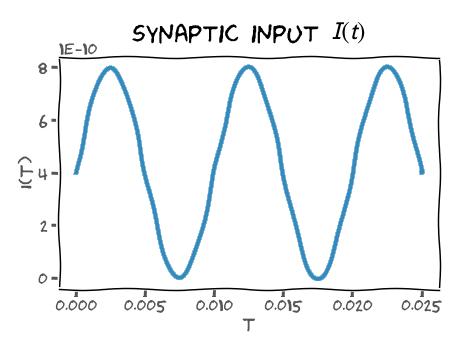 synaptic input