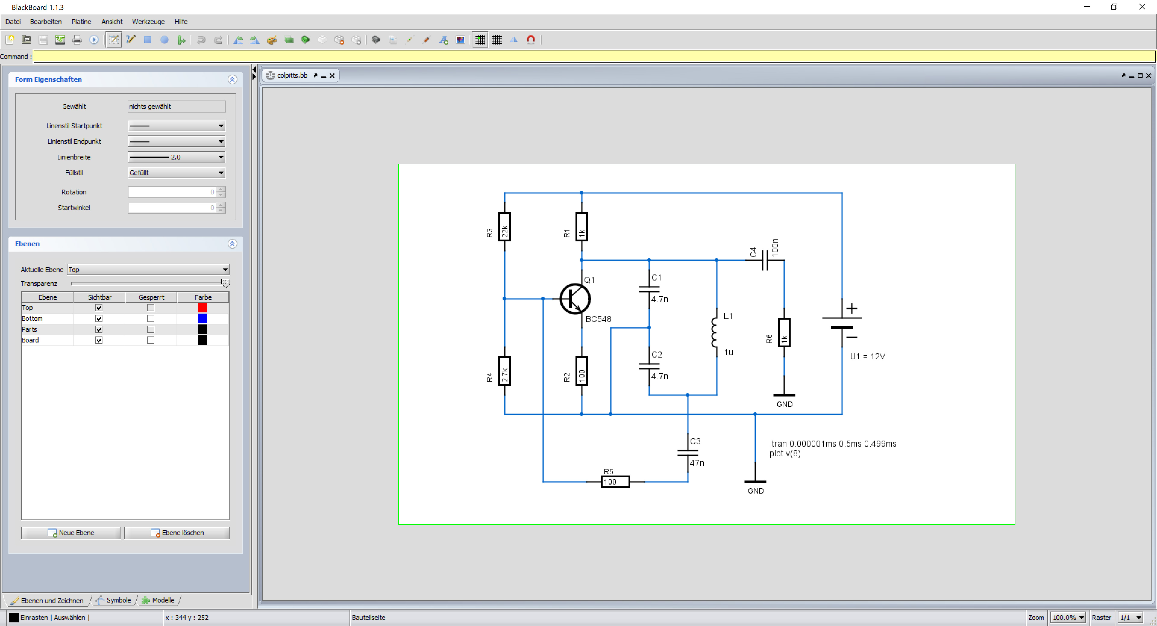 Schematics Editing