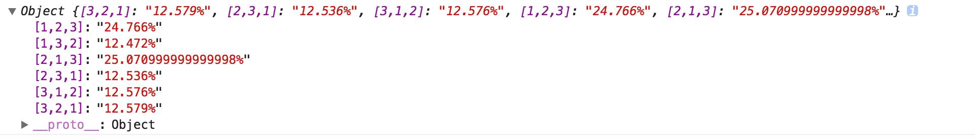 Math random 效果演示