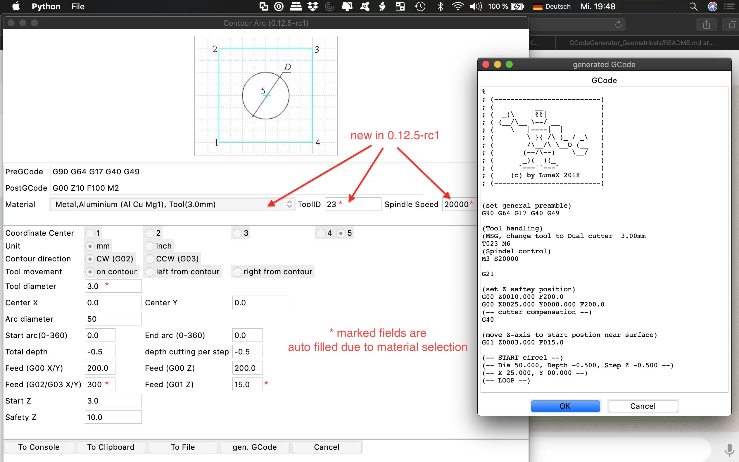 GitHub - mrRobot62/GCodeGenerator_Geometricals: Easy and simple to