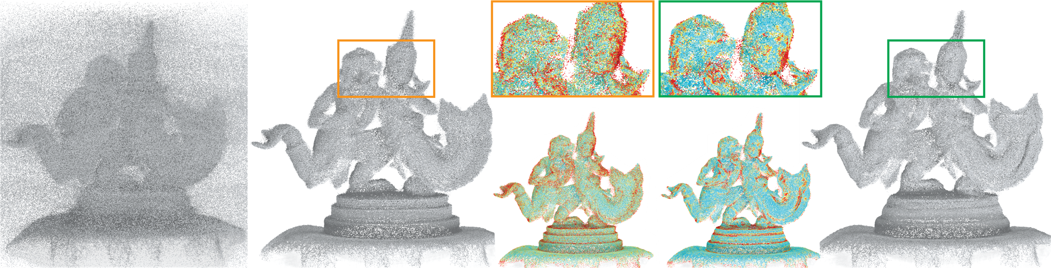PointCleanNet cleans point clouds