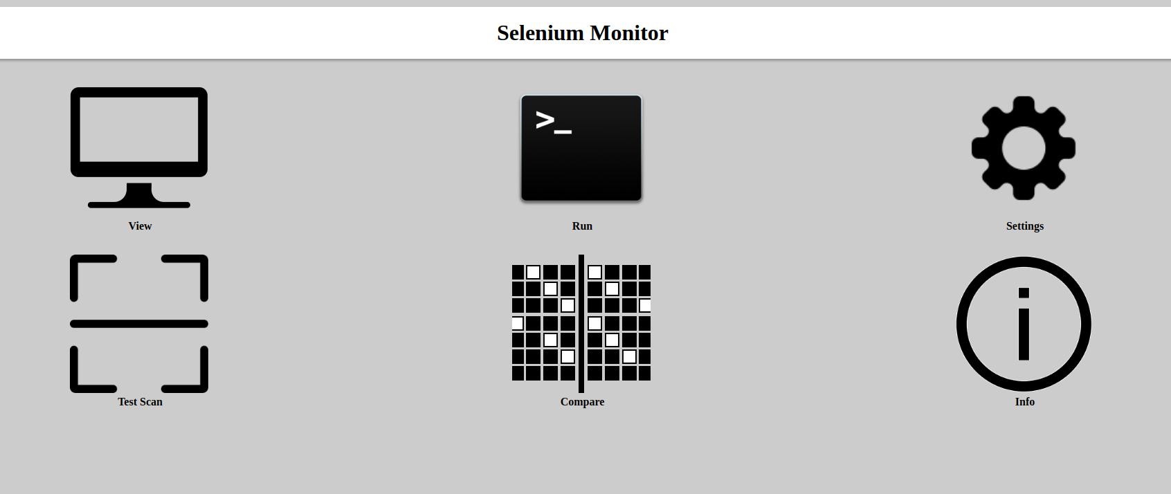 Screenshot of index