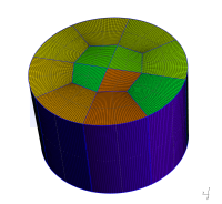 Cylinder mesh #3