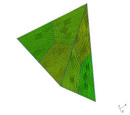 Tetrahedral mesh
