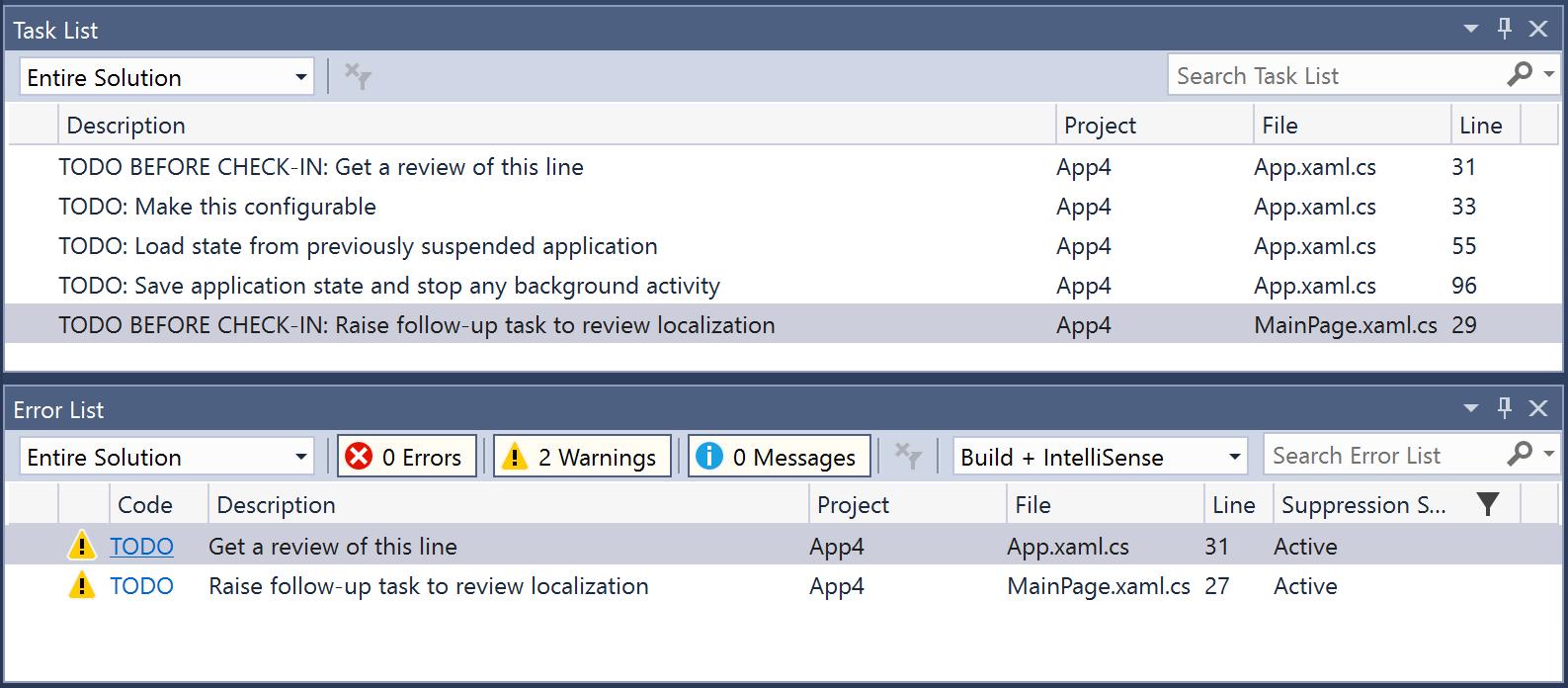 Warn About TODOs - Visual Studio Marketplace