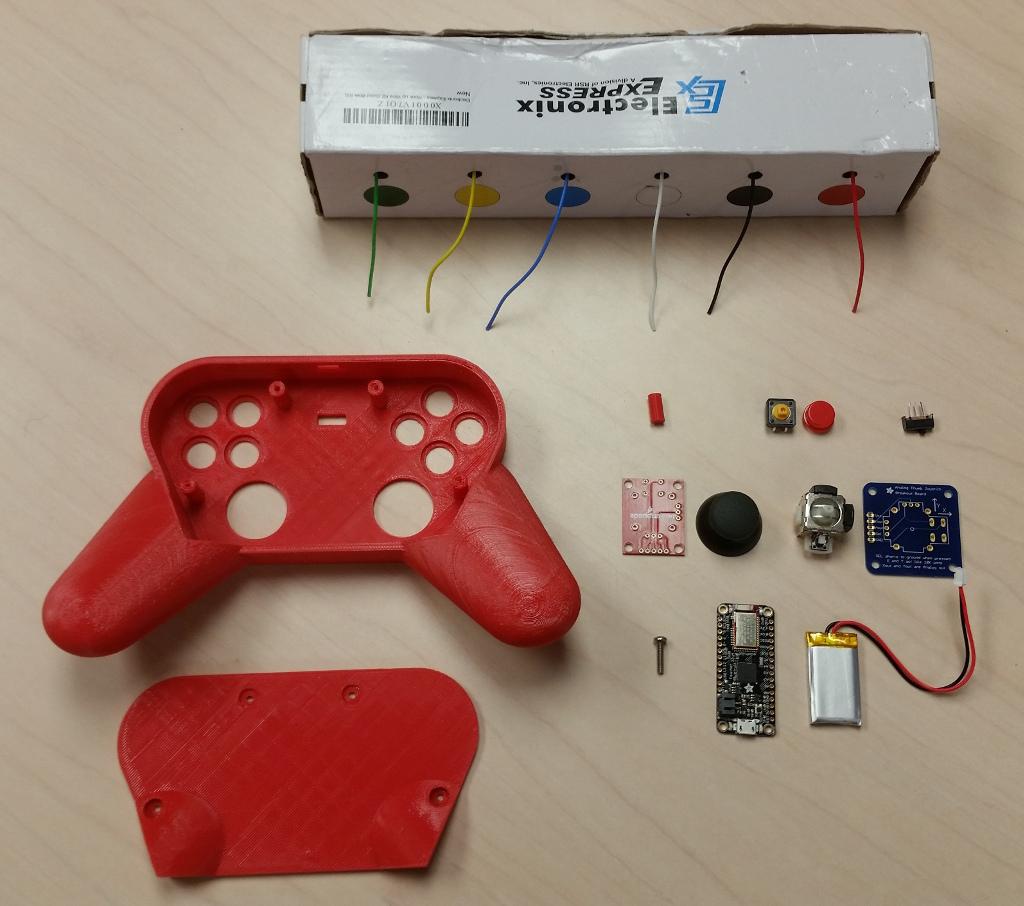 BLE Gamepad by doomsdaywombats - Thingiverse