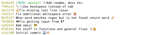 Add Emoji Icon on CommandLine/Terminal