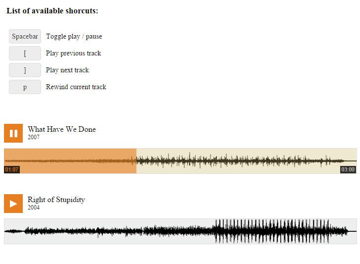 GitHub - mrt-prodz/Tiny-HTML5-Music-Player: Tiny HTML5 Music Player