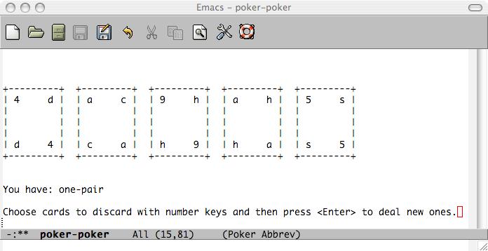 Emacs_Poker_Screenshot!