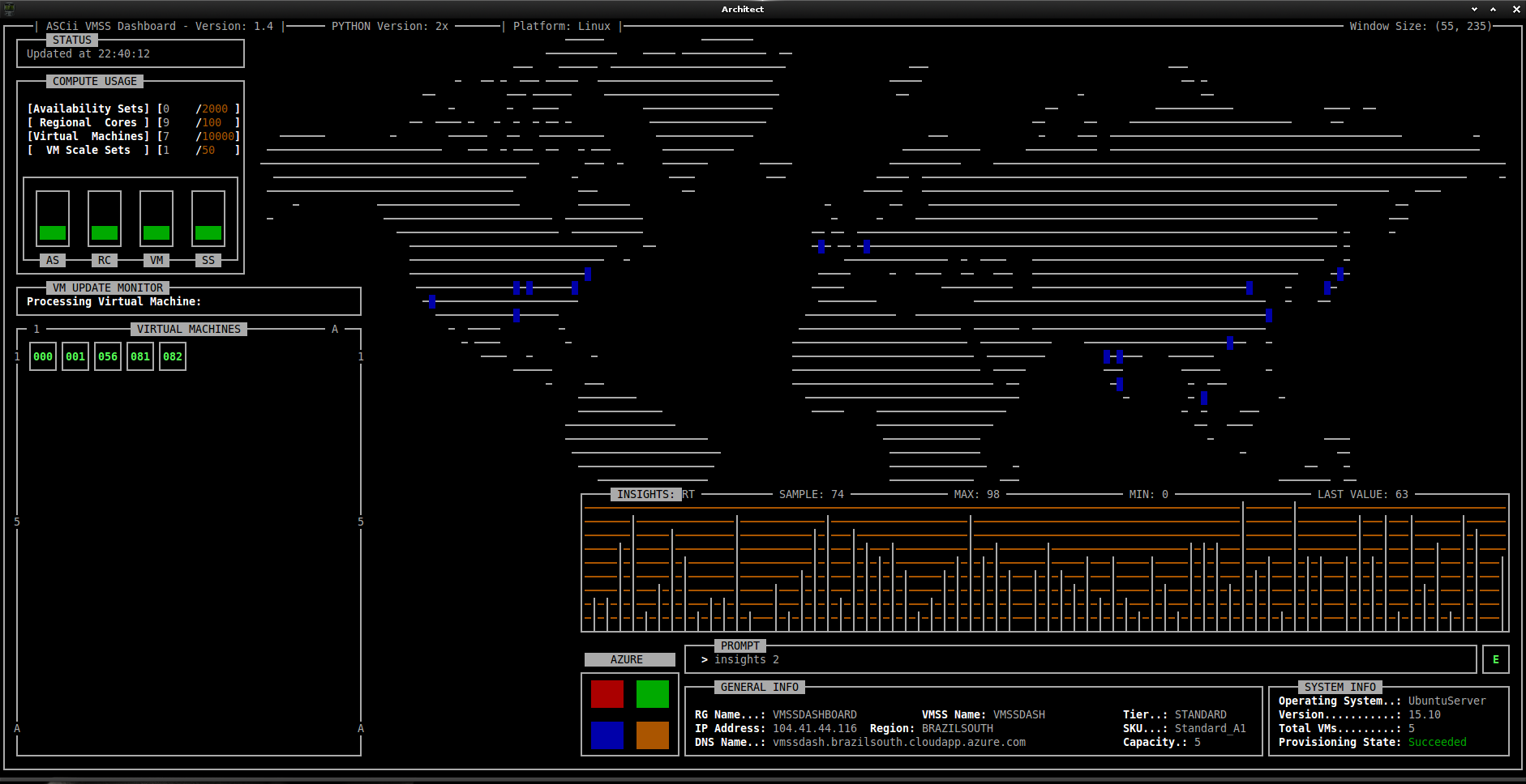 Image of ASCii VMSS Dashboard Insights 1