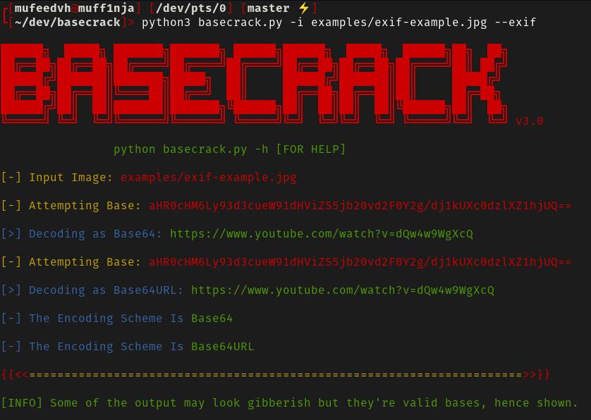 basecrack exif detection