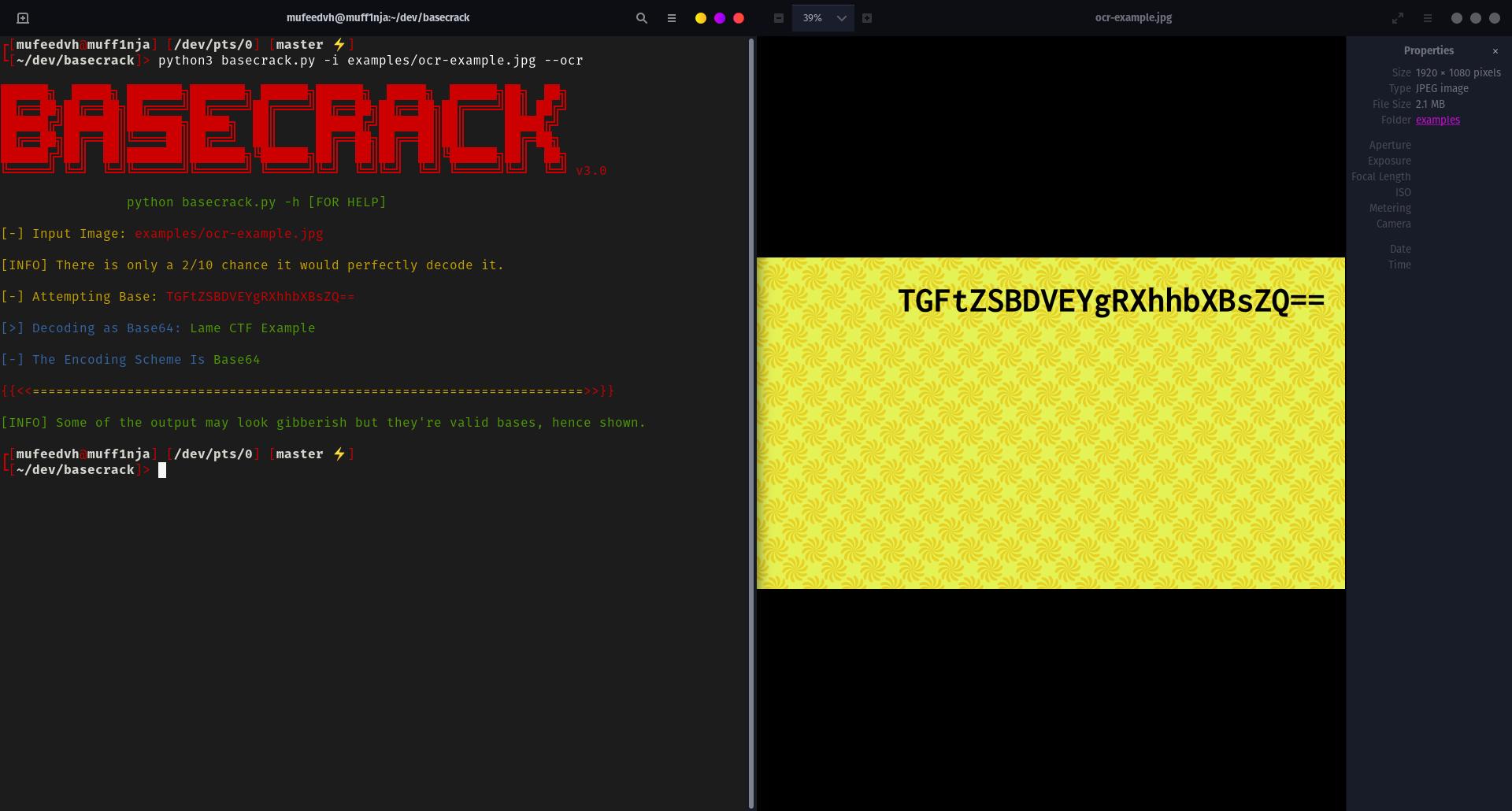 basecrack ocr detection