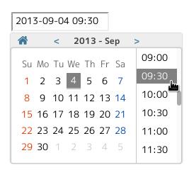 jquery-simple-datetimepicker (jquery simple-dtpicker js)