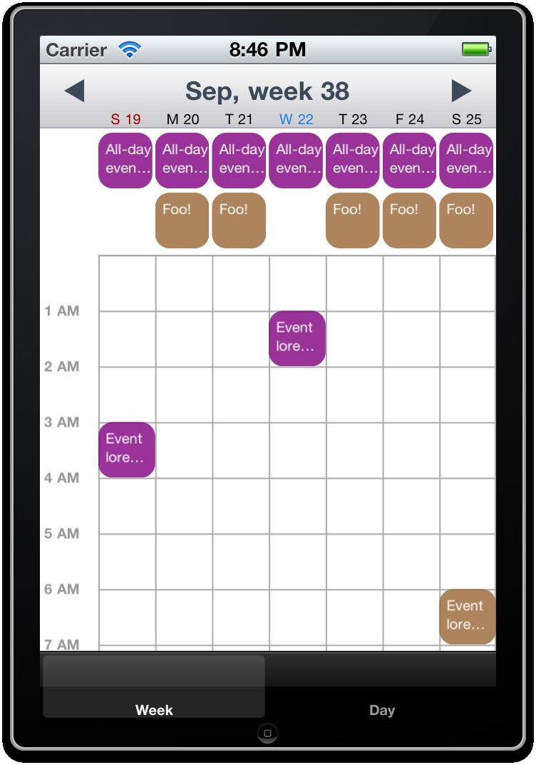 Weekly Calendar Ui : Calendar ui by muhku